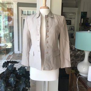 Valerie Stevens Petites Linen blend Jacket!